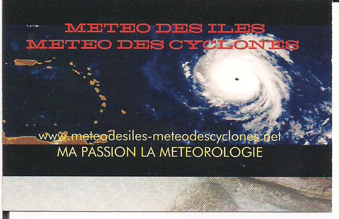 METEO DES ILES METEO DES CYCLONES
