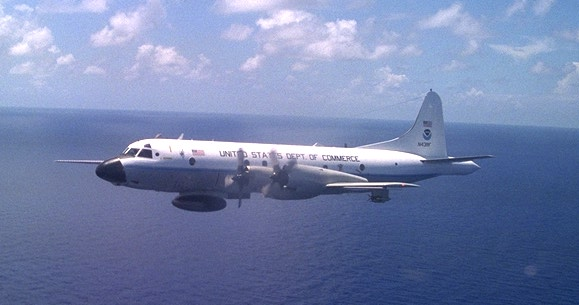 MISSION NOAA HUNTER AIRCRAFT