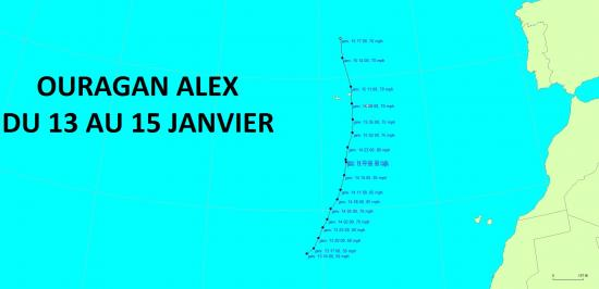 Ouragan alex 2016