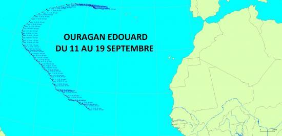 Ouragan Edouard 2014