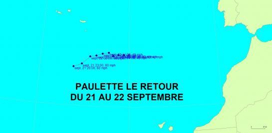 PAULETTE LE RETOUR