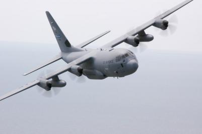 Hurricane hunters plane