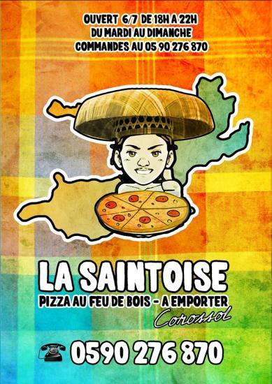 LA SAINTOISE PIZZA AU FEU DE BOIS COROSSOL ST BARTH