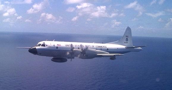 NOAA HUNTER AIRCRAFT
