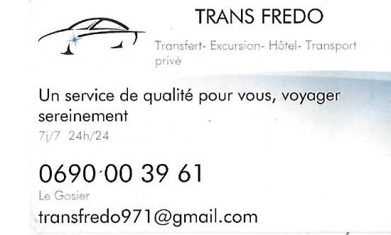 TRANS FREDO GOSIER GUADELOUPE